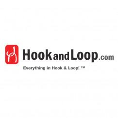 "1.5"" - DuraGrip Brand Sew-On Hook - Black DG15BLHS"