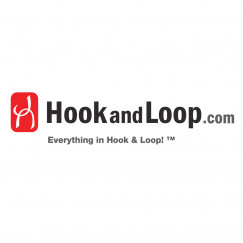 "1.5"" - DuraGrip brand Peel & Stick Hook: Rubber - Black DG15BLHR"
