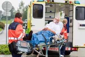 Velcro on patient transport