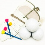 Even golf equipment uses hook-and-loop fasteners.
