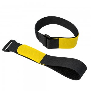 Cinch straps are great for bundling linens and other supplies.