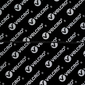 """Velcro® USA uses an """"R"""" indicator on the release liner for Acrylic based adhesives. """"B"""" is for Rubber."""