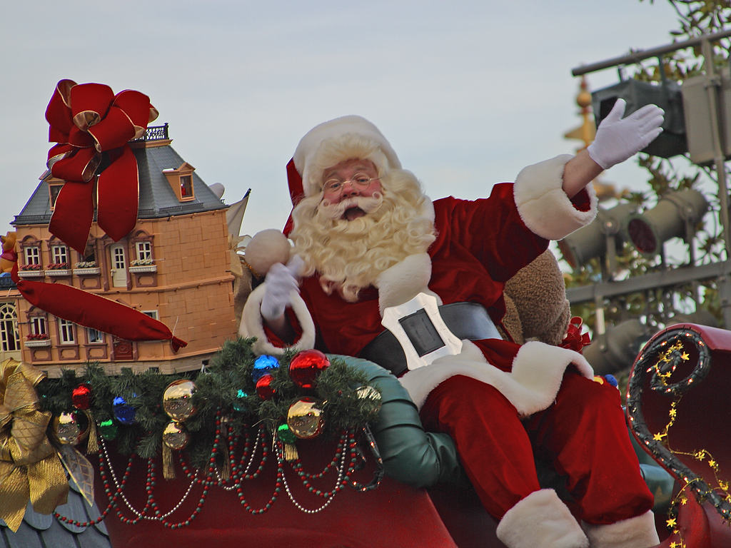 """""""Santa Claus Christmas"""" by Jon Sullivan is licensed under CC BY 2.0 from Public domain images"""