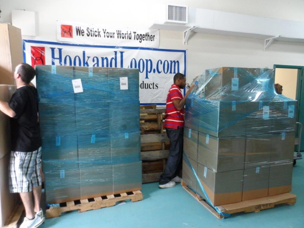 At HookandLoop.com, we're used to shipping via several different carriers and methods.