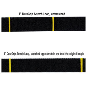 Stretch Loop being stretched to show elasticity.