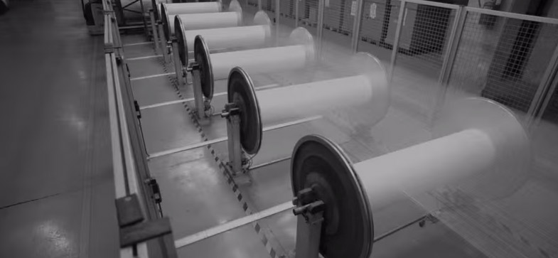 "We offer several converting options from custom strap manufacturing to die-cutting, sewn straps, and free cutting services on 3/8"" – 4"" material."