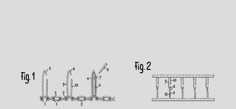 George De Mestral's patent for Velcro® Brand Fasteners.